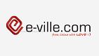 Logga e-ville's